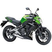 Xe tay côn thể thao Kawasaki ER 6N ABS 649cc 2016 - Đen phối xanh lá