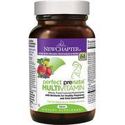 New Chapter Perfect Prenatal Vitamins Fermented with Probiotics + Folate + Iron + Vitamin D3 + B Vit...