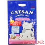 Cát Vệ Sinh Cho Mèo Khử Mùi Catsan Gói 5kg