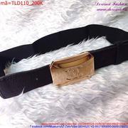 Thắt lưng đầm Chanel phối dây da cao cấp sang trọng TLD110