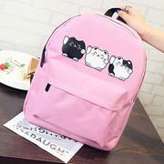 Ba lô mèo ú xinh xắn Mu2 HK Fashion - Hồng - Y223