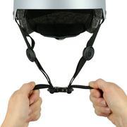 Mũ bảo hiểm trượt patin 1 hàng, trượt ván, đi xe trượt và đạp xe Play 5 - Grey