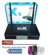 SMART Tivi BOX ANDROID TELE X5 + khuyến mại chuột Wife (Đen)