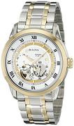 Đồng hồ nam Bulova 98A123 BVA-SERIES Two-Tone Stainless Steel Automatic Bracelet Watch