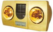 Đèn sưởi nhà tắm Kottmann 2 bóng vàng K2B- HW-G