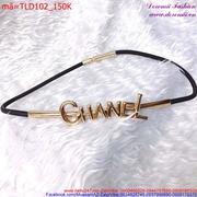 Thắt lưng đầm sợi nhỏ Chanel sang trọng quý phái TLD102