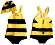 Áo bơi ong có mũ cho bé 6 tháng đến 3 tuổi