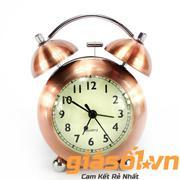 Đồng hồ báo thức US Mini Clock ( Vàng đồng )(Đồng đỏ)