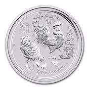 Xu bạc in hình con gà kỉ niệm của Úc 2017 xuân Đinh Dậu