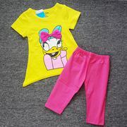 Bộ thun quần kaki bé gái LoveLy BB NX476