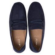 Giày loafer Geox U Xense Mox C màu navy 8056536931891