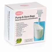 Túi trữ sữa mẹ trực tiếp từ máy hút sữa Unimom ( Loại 10 túi/hộp) UM870275