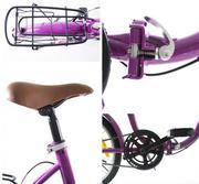 Xe đạp gấp thông dụng Fornix - BG802 (màu đỏ)