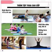 Thảm Tập Yoga Cao Cấp (Xanh dương)