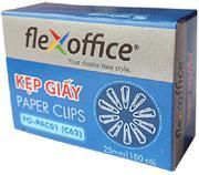 Kẹp giấy 25mm FO-PAC01 FlexOffice