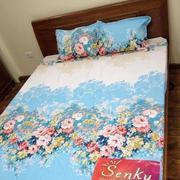 Bộ ga giường cotton hoa dây Tmark