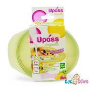Chén ăn dặm UPASS - Organic - Set 3 Lá UP5184OL