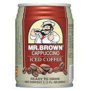 Cà Phê Sữa Cappucino Mr.Brown Cappucino Lon 240ml