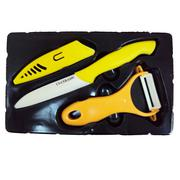 Bộ dao bếp CS bằng Inox màu Ceramic 032593
