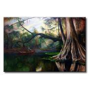 Tranh in canvas sơn dầu Thế Giới Tranh Đẹp Scenery 028
