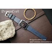 Dây đồng hồ da thật Handmade cho Apple Watch ( 38mm và 42mm ) – Mẫu DC93-D130