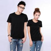 Áo cặp trơn màu đen - ACTDen