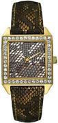 Đồng hồ GUESS U0050L2 Gold-Tone Glamour Python-Print Watch
