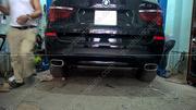 Độ chia 2 pô cho BMW X3 tại thanhtungauto