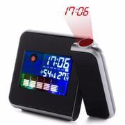 Đồng hồ báo thức chiếu trần nhà
