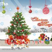 Decal Dán Tường Dán Kinh Noel Và Năm Mới