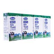 Sữa tiệt trùng Vinamilk có đường 110ml (1 hộp)