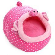 Soft Cute Warm Animal Character Fleece Pet Dog Puppy Cat Teddy Bed House Mat - intl