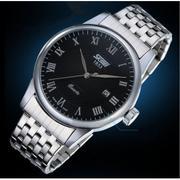 Đồng hồ nam dây thép không gỉ SKMEI DHN36 (Đen)