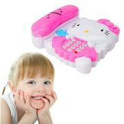 Điện thoại hoạt hình vui nhộn cho bé - Kitty hồng