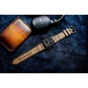 Dây đồng hồ da thật Handmade cho Apple Watch ( 38mm và 42mm ) – Mẫu BF09D03