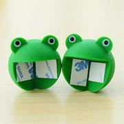 4PCS New Cartoon Furniture Corner Baby Safety Bumper Thicken Protector Frog - intl