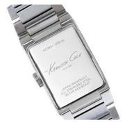 Kenneth Cole New York Men's Classic Silver-Tone Bracelet Watch #KC3825