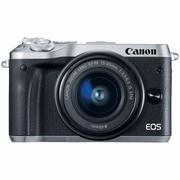 Canon EOS M6 với lens kit EF-M 15-45mm f/3.5-6.3 IS STM (Bạc) - Hãng Phân Phôi Chính Thức + Tặng thẻ...