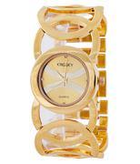 Đồng hồ nữ KINGSKY nữ xen vòng độc đáo KS005 - Vàng