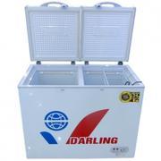 TỦ ĐÔNG DARLING DMF-6788AX, 1 NGĂN, ĐÈN LED, ỐNG NHÔM, CÔI PHẲNG, PHỦ NHỰA