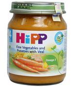 Dinh dưỡng đóng lọ thịt bê khoai tây rau tổng hợp Hipp 4+