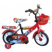Xe đạp trẻ em màu đen đỏ 12 inch CL12D