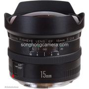 Lens Canon EF 15mm F2.8 Fisheye 98%