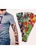 Ống Tay Áo Chống Nắng Hình Xăm Tattoo W36