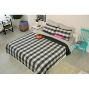 Bộ drap Bọc trải giường, áo gối, Vỏ chăn (Lavender) 140x200cm