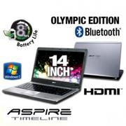 Acer Aspire Timeline AS4810TZ-4982 LX.PKQ02.021 Olympic Edition Notebook PC - Intel Pentium Dual-Cor...