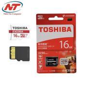Thẻ nhớ MicroSDHC Toshiba Exceria 16GB 90MB/s (Đỏ)