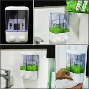 Hộp đựng nước rửa tay 2 ngăn GG24 (Trắng)