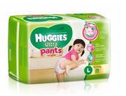 Tã quần Huggies Ultra Pants L28 bé gái