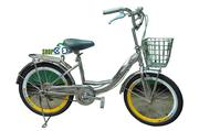 Xe đạp trẻ em 20MILU-INOX Nữ (Mã SP:  20MILU-INOX Nữ )
